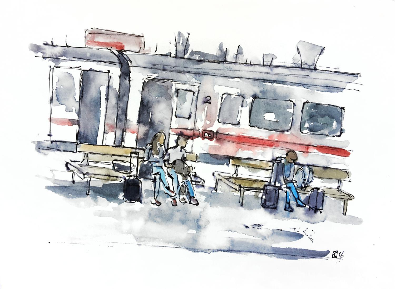 Aleisa - Karlsruhe II - Din A4 - Stefan Eisele - RGB