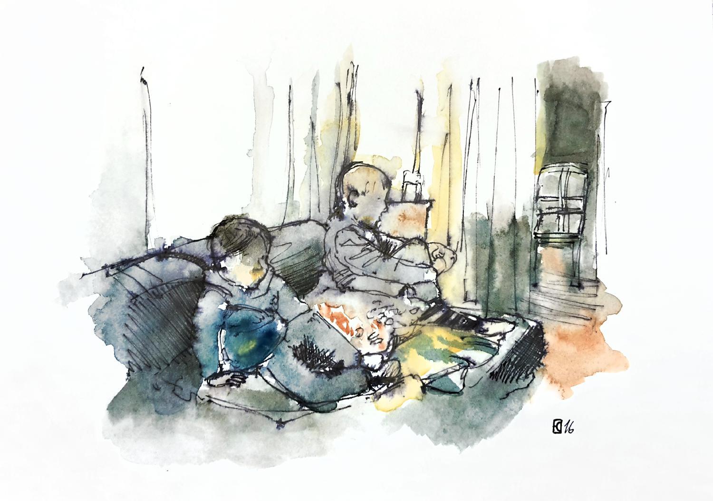 Aleisa - Lennard & Philipp - Din A4 - Stefan Eisele - RGB