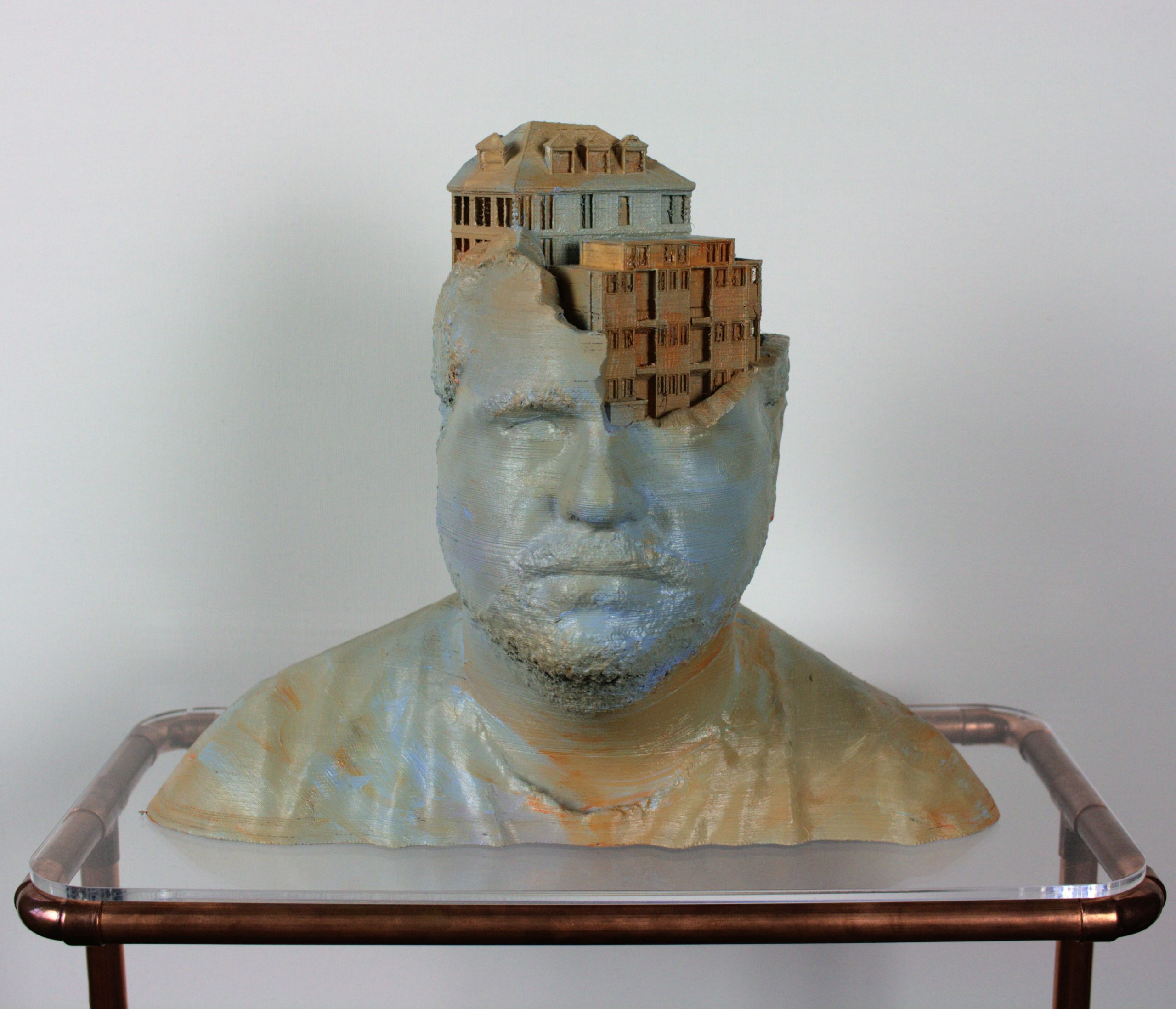 City portraits Alex- 3D print 2020