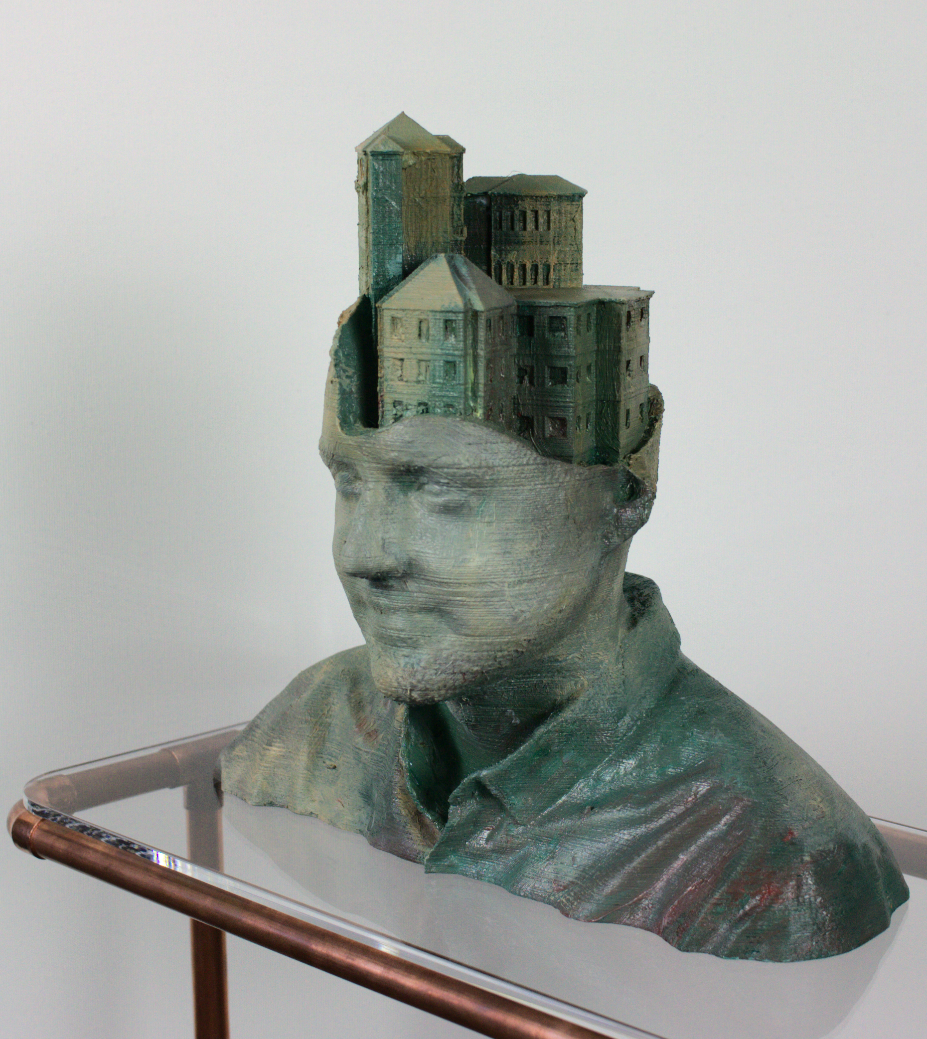 City portraits Tobi - 3D print